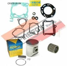 Honda CR125 CR 125 2007 Mitaka Top End Rebuild Kit Inc Piston & Gaskets